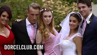 The Busty Milf Emma Leigh Initiates Misha Cross In A Threesome