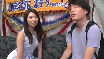 Gorgeous Yamagishi Aika Takes A Stiff Cock In Her Hairy Pussy