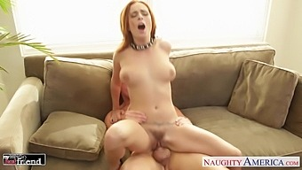 Wife'S Friend Ashley Graha Demonstrates Talents Of Her Deep Throat And Wet Pussy