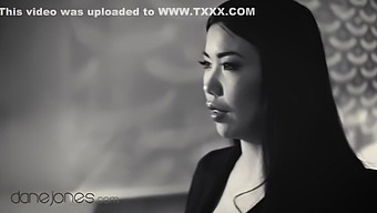 Classic Detective Movie Parody Hot Asian Babe Fucked In His Office - Dane Jones And Alina Crystall