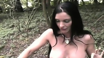 Enticing Woman Is Making A Solo Erotic Video