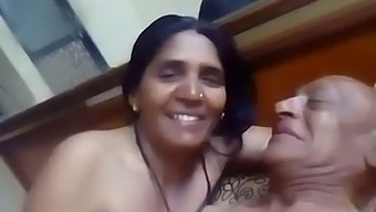 Indian Old Aunty Having Sex With Her Husband