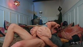 Hot Like Fire Appetizing Milf Valentina Nappi Keeps Jumping On Cock Of Danny D