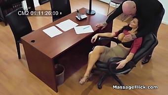 Big Tit Secretary Caught Fucking On Spy Cam At Work