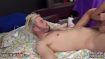 Alexis Monroe And Tiffany Tyler - Creampie Squirting Orgy W/ Four Losers - Part 2 Of 2
