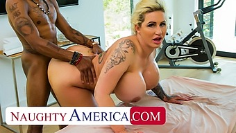Naughty America - Ryan Conner Pulls Out Masseuse'S Cock