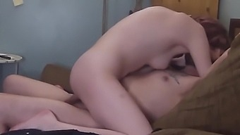 Truly Playful Couch Sex Makes Me Squirt In The Floor And Leads To A Very Risky Creampie!