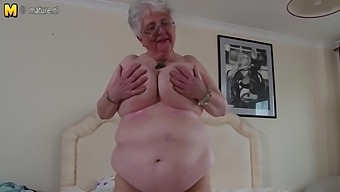 Big Breasted British Granny Playing With Herself - Maturenl