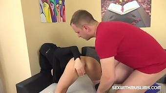 Contractor Fucks Muslim Bitch As Compensation With Thomas Lee And Sarah Kay