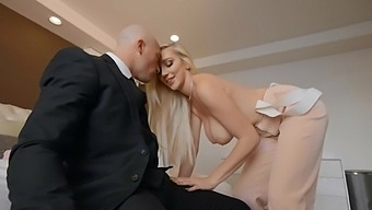 Blonde Wife Kendra Sunderland With Natural Boobs Gets Fucked Hard