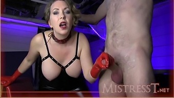 Monthly Milking Reward For Twisted Slave With Mistress T